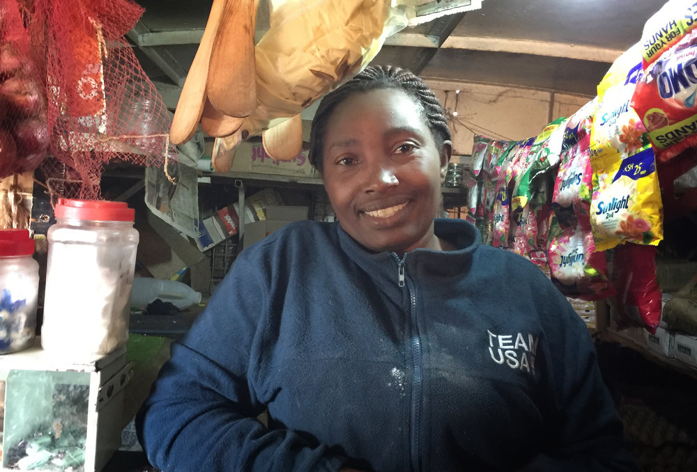 """I have learnt to never underestimate myself. I am now believing in myself more, and the ability to achieve my dreams. I have been able to provide for my family comfortably.""  —  REGINA , shop owner in Kenya"