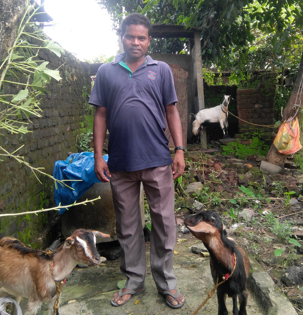 """I have been learning that business can be a great tool for the extension of the Kingdom of God. We are very happy. ... now we can dream more. Dreaming is sweet.""  —  JOHN , goat breeder in India"