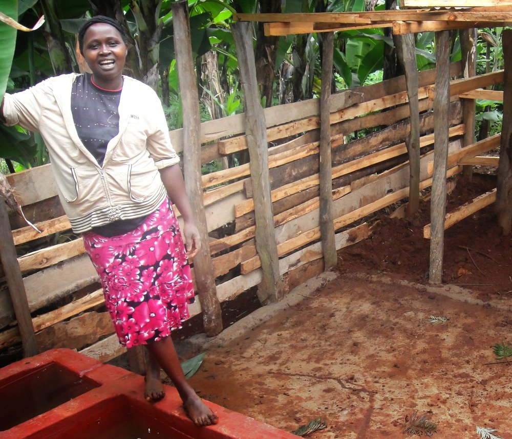"""I am now able to convince my family about having a big vision. My family is very focused nowadays. My thinking has changed, and I am very focused on my good project. I am now able to see far.""  —  NANCY , dairy farmer in Kenya"