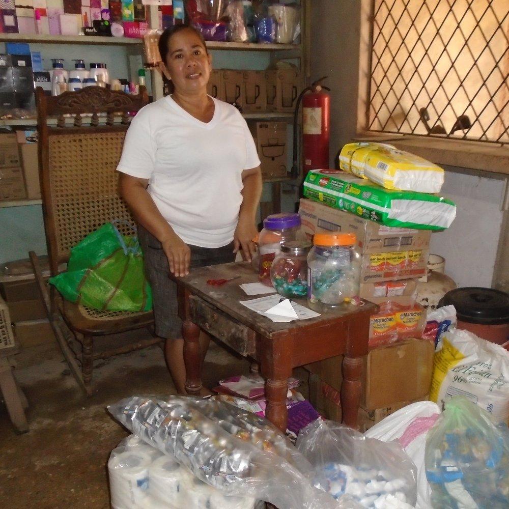 Las compras que realizamos con Perla.JPG