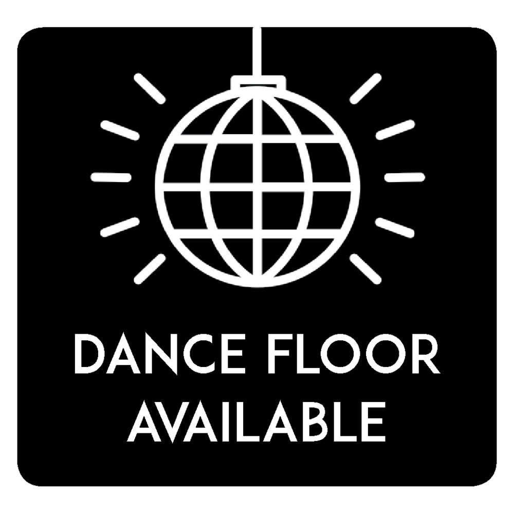 Having A Party? - You're in luck!We have 15x15 interlocking hardwood dance floor available for any of our tents so that you and your guests can dance the night awayPrice: $225Icon by Milky (Digital Innovation) from Noun Project