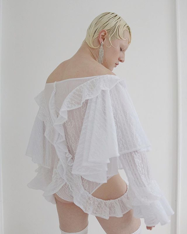 Introducing @delhaciendaofficial 𝓟𝓪𝓵𝓸𝓶𝓪 𝓑𝓸𝓭𝔂𝓼𝓾𝓲𝓽, made of 4-way stretch power mesh and dead stock stretch lace (note: each item may vary due to the sourcing of our dead stock lace.) but, the silhouette and ruffle details will remain constant intersecting throughout the design hugging the curves and complimenting any body type, shape, or size that is uniquely you. Be sure to check out our site for new items coming very soon!  Xo