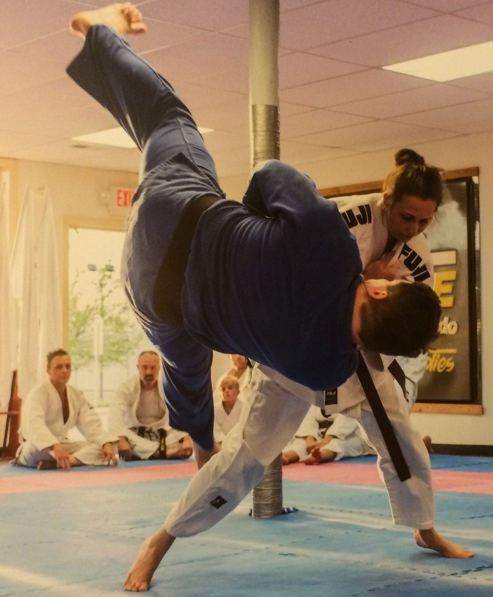Judo is a style where size does not mean instant victory, as true technique overcomes all.