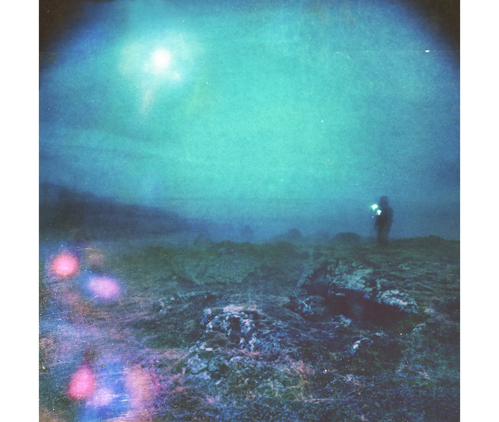 Paul Hoi Group Study A Drop Of Dye Into Water Psychedelia Expired Polaroids from Iceland 1