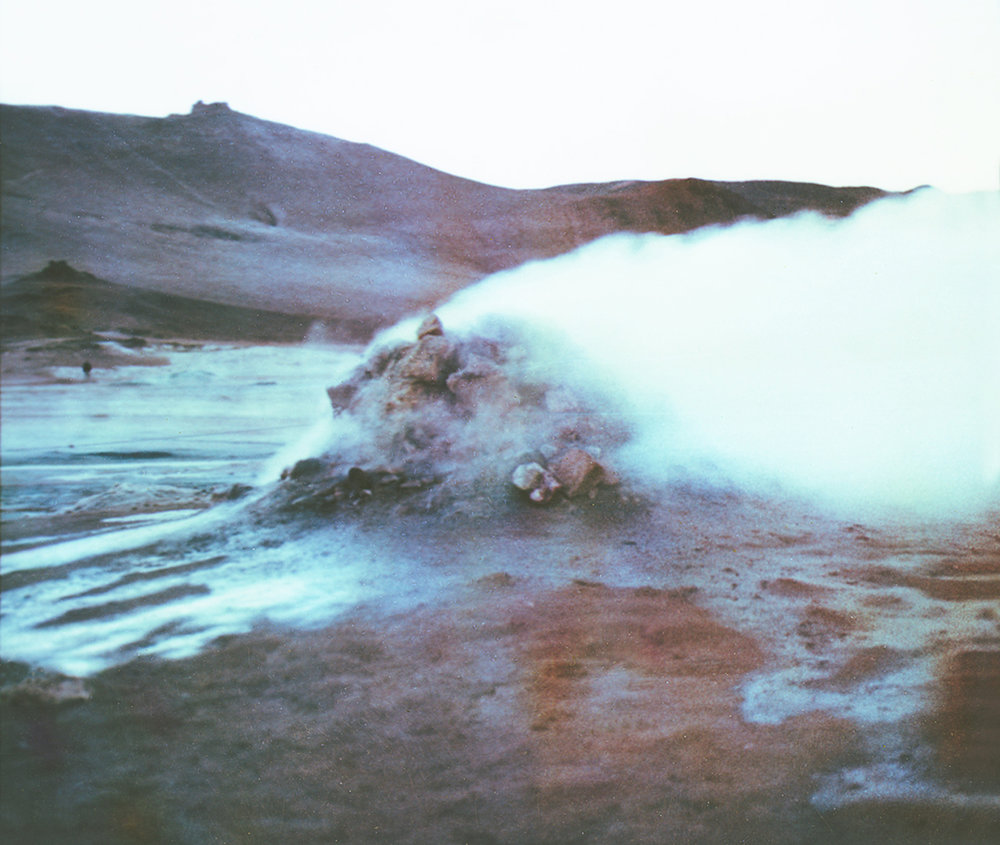 Paul Hoi Group Study A Drop Of Dye Into Water Psychedelia Expired Polaroids from Iceland 2