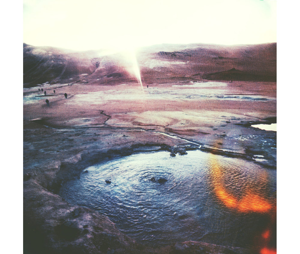 Paul Hoi Group Study A Drop Of Dye Into Water Psychedelia Expired Polaroids from Iceland 8