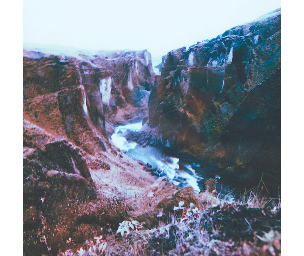 Paul Hoi Group Study A Drop Of Dye Into Water Psychedelia Expired Polaroids from Iceland 12