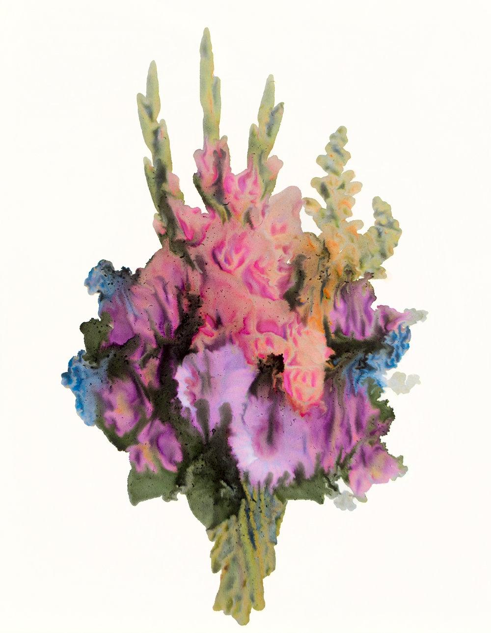 Arrangement #5, Archival Pigment Print Photograph, unique, 2018 [from the series Take Care)
