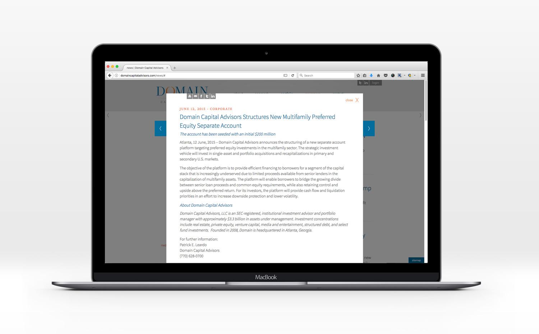 Domain Capital Advisors — Chad Meyer