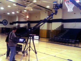 Tom Shooting with the EZ Jib