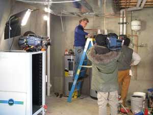 Shooting Renovation Nation in Boulder
