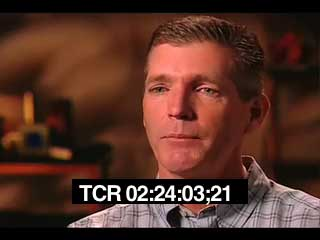 Interview showing timecode window burn