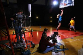 Shooting For Under Armour with HDX900 and Phantom Camera