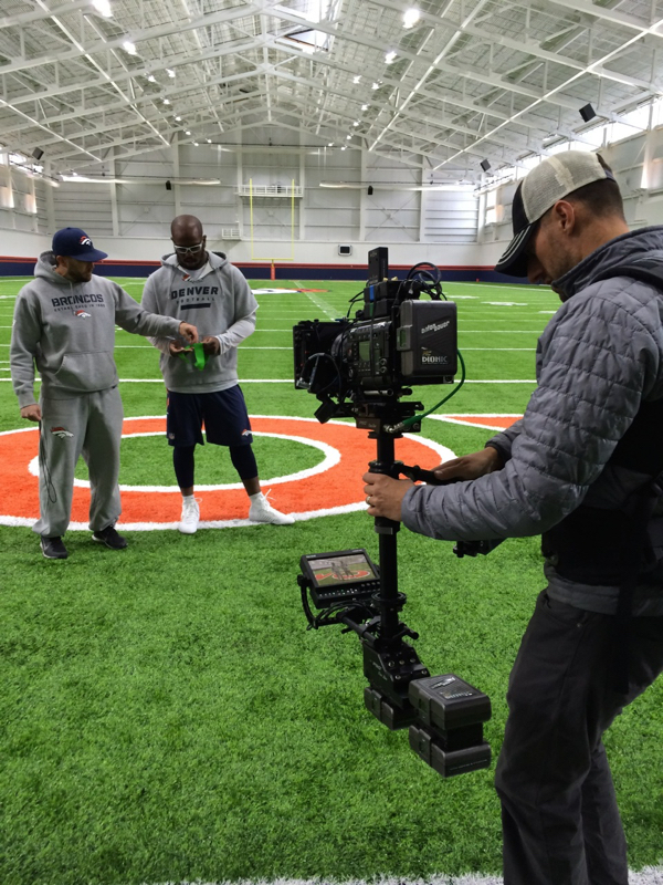 Steadicam following Von's Workouts