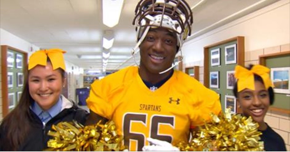 Demarcus Ware at Thomas Jefferson High School
