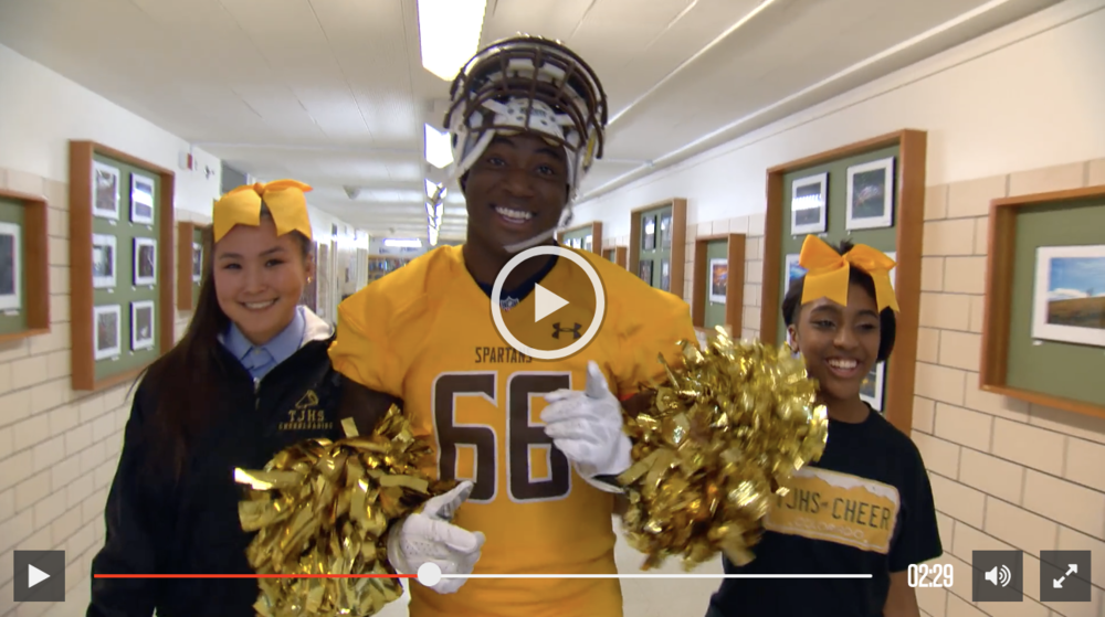 DeMarcus Ware Shocks HS Football Team