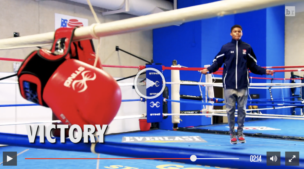Shakur Stevenson's Olympic Dream