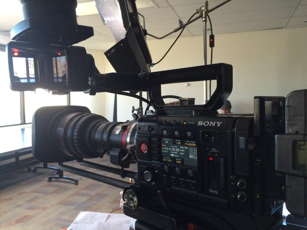 Canon Cine Servo 170-120 with our Sony F55 Digital Cinema Camera Package