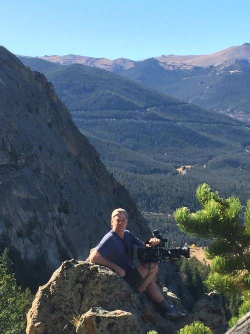 Tom in the Rockies