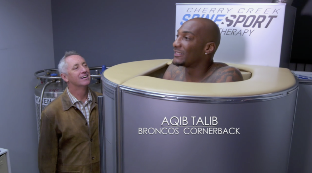 Cryotherapy with Rick Reilly