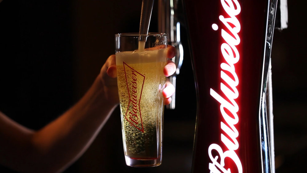 Budweiser Pour Shot