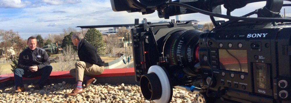 Sony F55 with Canon 135mm Cine Lens