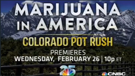 Colorado Pot Rush Premieres on CNBC