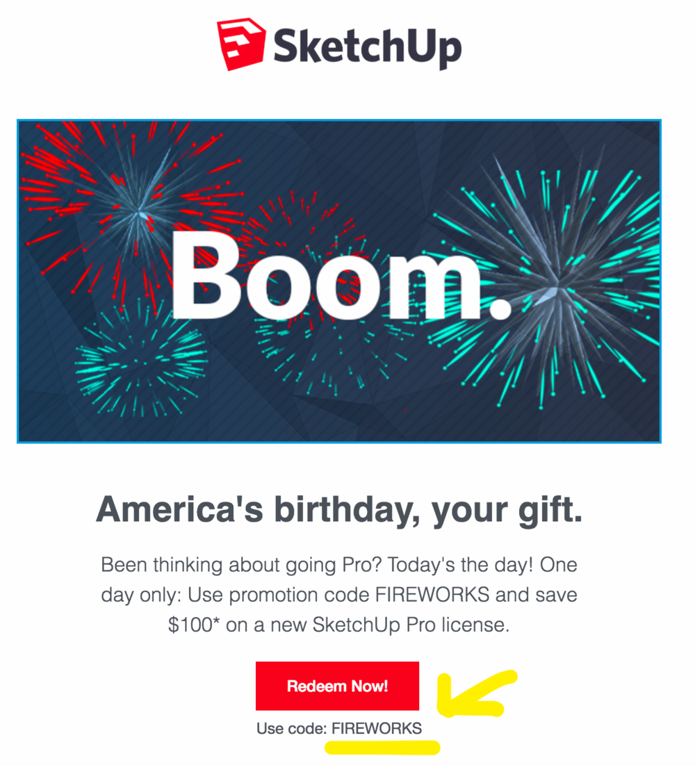 SketchUp Coupon
