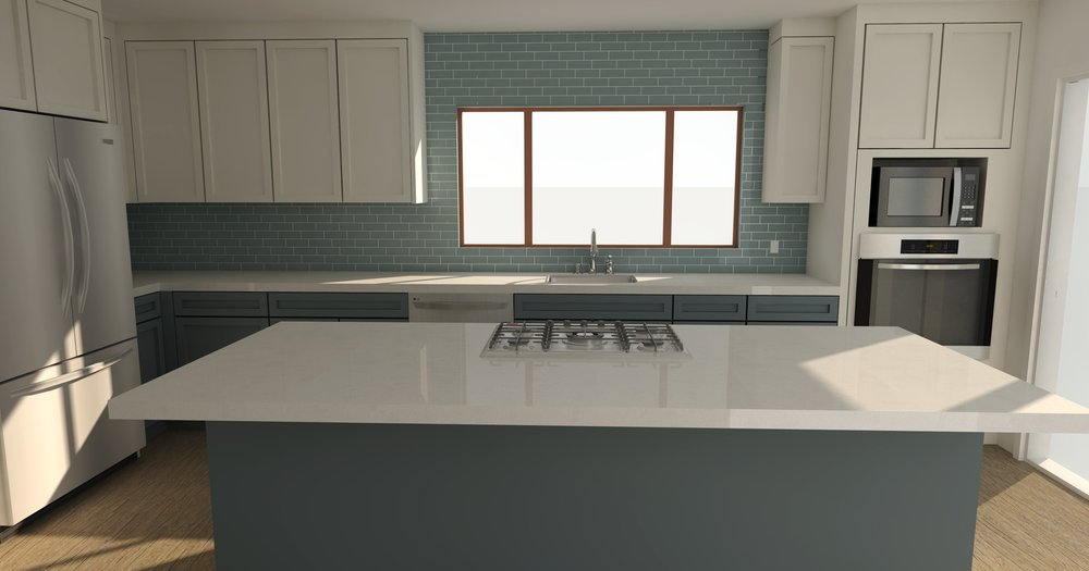 SketchUp Rendering Kitchen