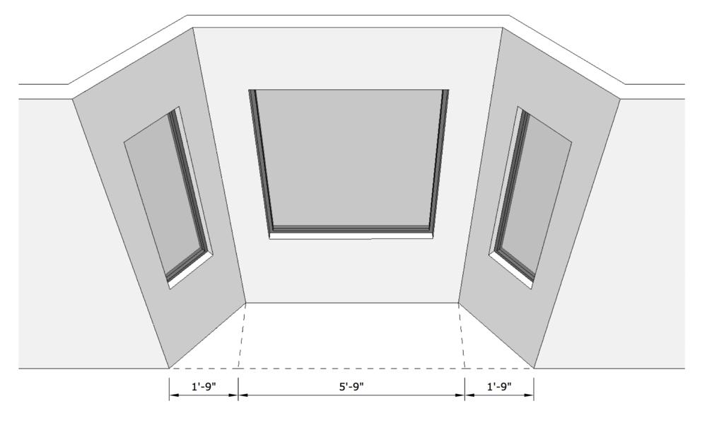 SketchUp for Interior Designers Drawing Angled Walls