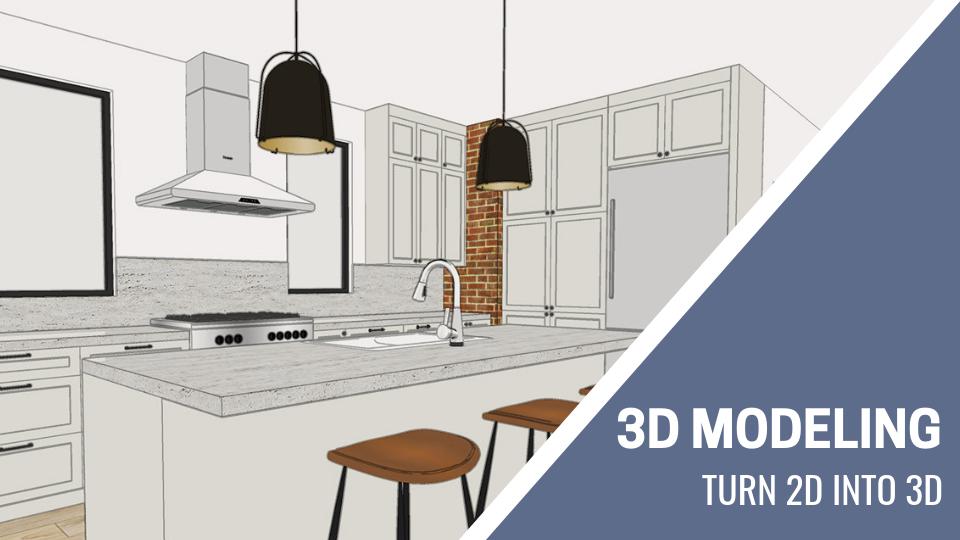 3D Modeling in SketchUp for Interior Designers