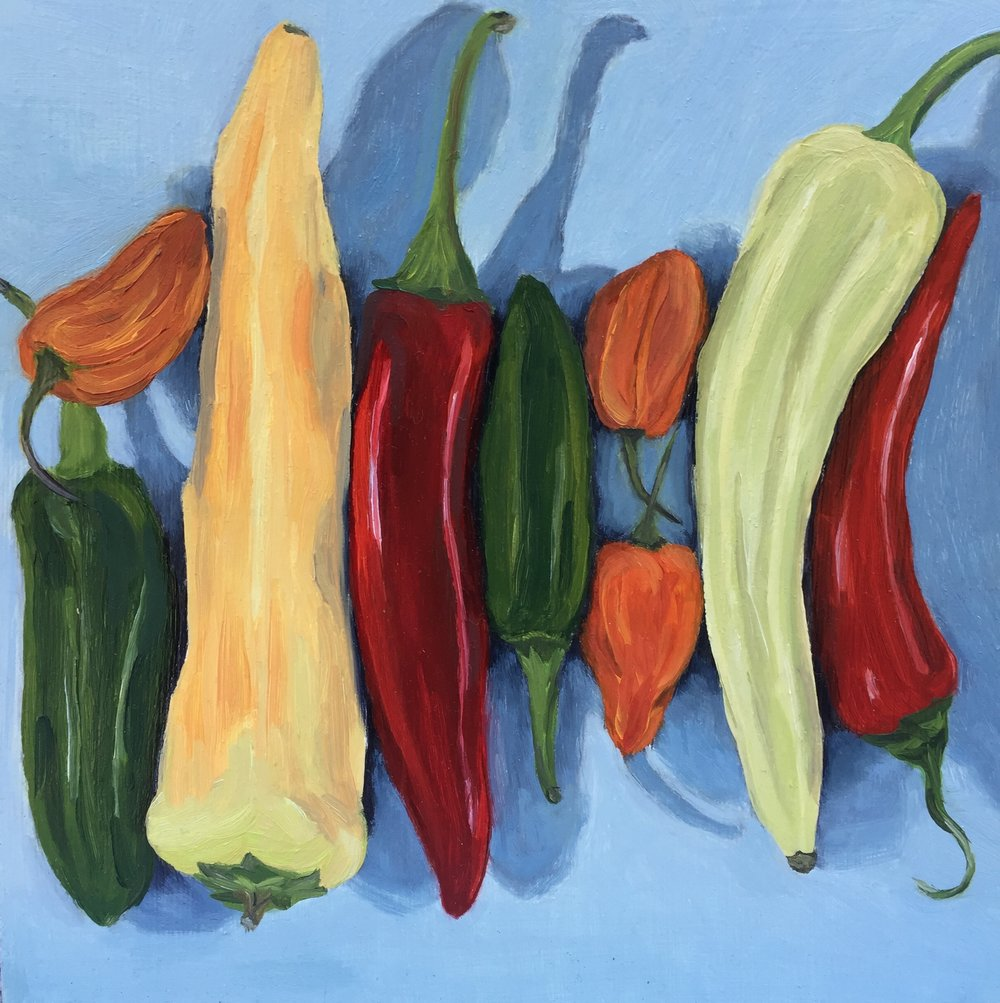 The Power of Peppers - Falkirk Galleries 2017 Fall Open Juried Art ExhibitionAugust 11 - September 29, 2017Open Reception: Friday, August 11, 6:00pm - 8:00pmFalkirk Cultural Center, 1408 Mission Ave, San Rafael, CA 94901Gallery Hours: Tuesday-Friday, 1:00pm - 5:00pm and Saturday, 10:00am - 1:00pmGallery included The Power of Peppers and Tools