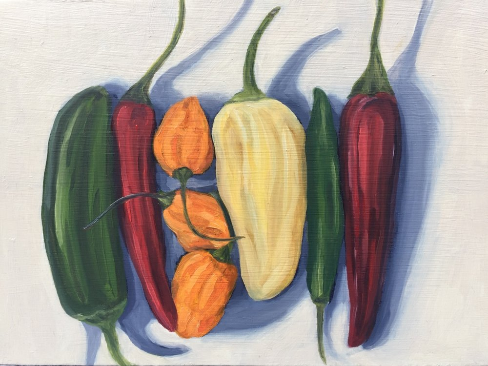 Peppers - STUDIO Gallery, tinyNovember 10 - December 23, 2017Open Reception: Sunday, November 12, 1:00pm - 6:00pmSTUDIO Gallery, 1641 Pacific Avenue, San Francisco, CA 94109Gallery Hours: Gallery Hours: Open daily 11:00am - 7:00pm, closed Tuesday and Wednesday
