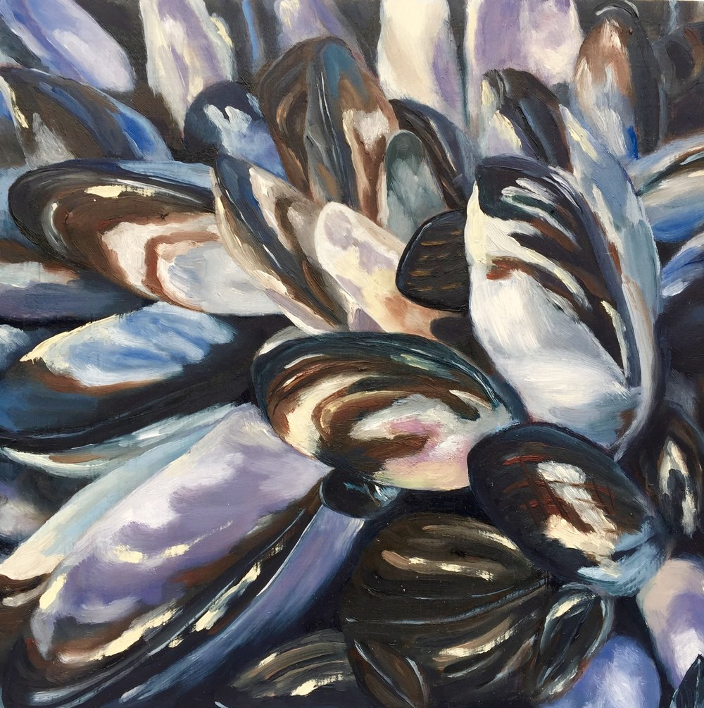 Mussels - STUDIO Gallery, tinyJuly 5 - July 30, 2018Open Reception: Sunday, November 11, 11:00am - 6:00pm15th Anniversary Party: Sunday, December 2, 1:00pm - 6:00pmSTUDIO Gallery, 1641 Pacific Avenue, San Francisco, CA 94109Gallery Hours: Gallery Hours: Open daily 11:00am - 7:00pm, closed Tuesday and Wednesday