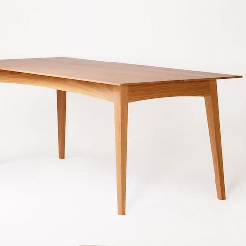 Schulim Table - Schulim Table in American Oak inspired by the work of Schulim Krimper.