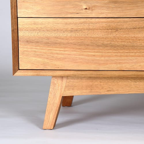 Blackwood Sideboard - A long, low Sideboard for AV equipment and storage.