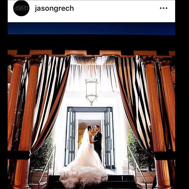 #repost the most beautiful dress by @jasongrech for our beautiful bride Alisha. @iconphotographymelbourne did an amazing job capturing this wedding! 😍 . . . #bride #weddingday #Brighton #weddingdress #bridal #perfect #love #winterwedding #bridalcoture #weddinginspo #groom #bridetobe #lovely #inlove #jasongrech #couple #happiness #brightonevents #bridalstyle #amazing #weddingplanning