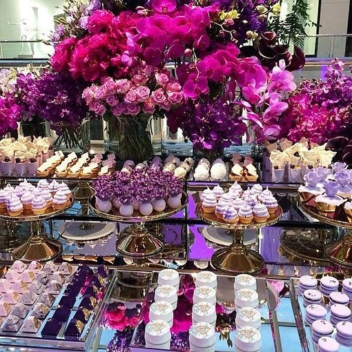What dreams are made of 😍 • • • • #catering #events #buffet #dessert #bride #love #eventplanner #festa #chocolate #weddings #eventprofs #cake #eventplanning #brightonbeach #event #weddingplanner #dessertporn #purple #florals
