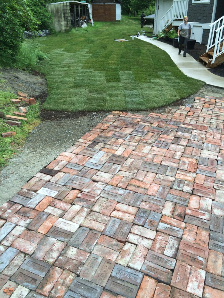 paver patio - nanaimo
