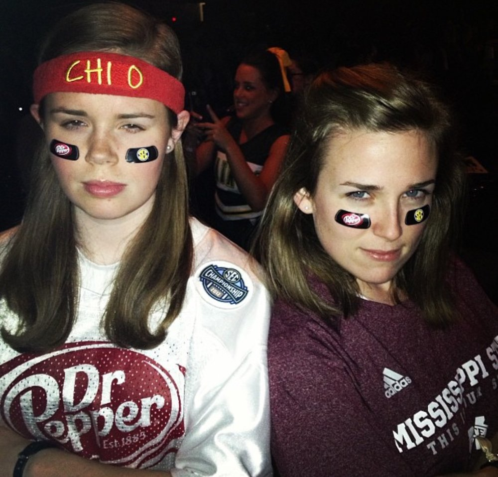 """Us at what I think was a """"Mathletes and Athletes"""" Swap, dressed in our DP finest."""