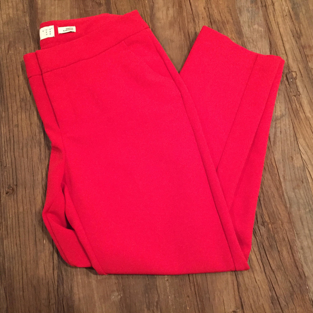 Target 'A New Day' Red Pants