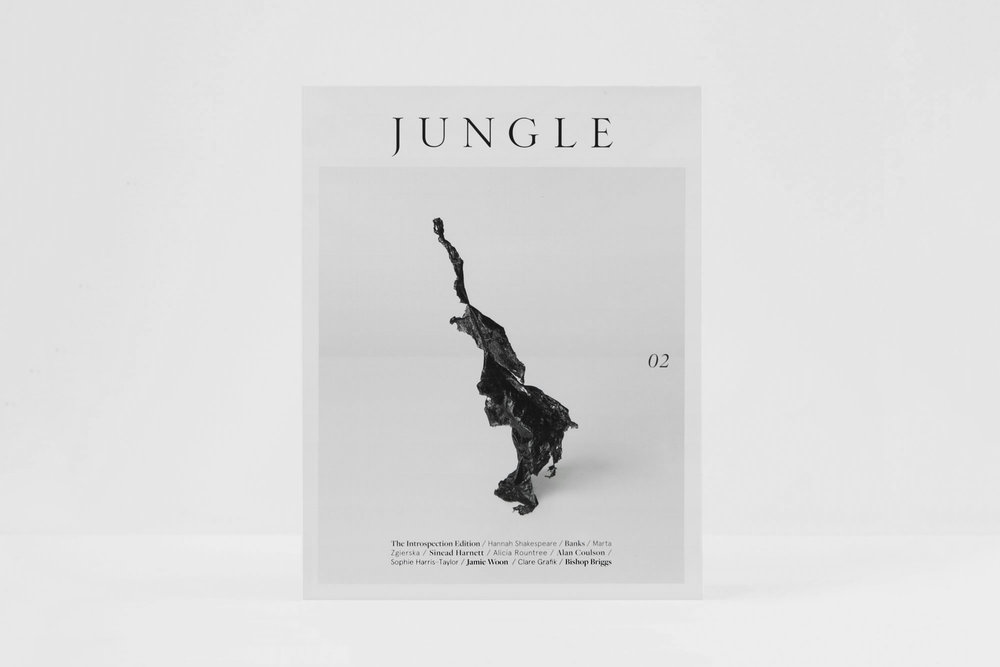 About - —Jungle is an international fashion and culture publication based in London that aims to inspire and empower its readers through creative freedom, forward-thinking and artistic expression. It provides a collection of timeless creativity; stemming from the familiarity of the everyday and the imagined unknown: words, sounds, images, collaborations and experiences inspire our pages. Jungle tells a new story, it challenges and it creates a conversation.Cover artwork by Marta Zgierska