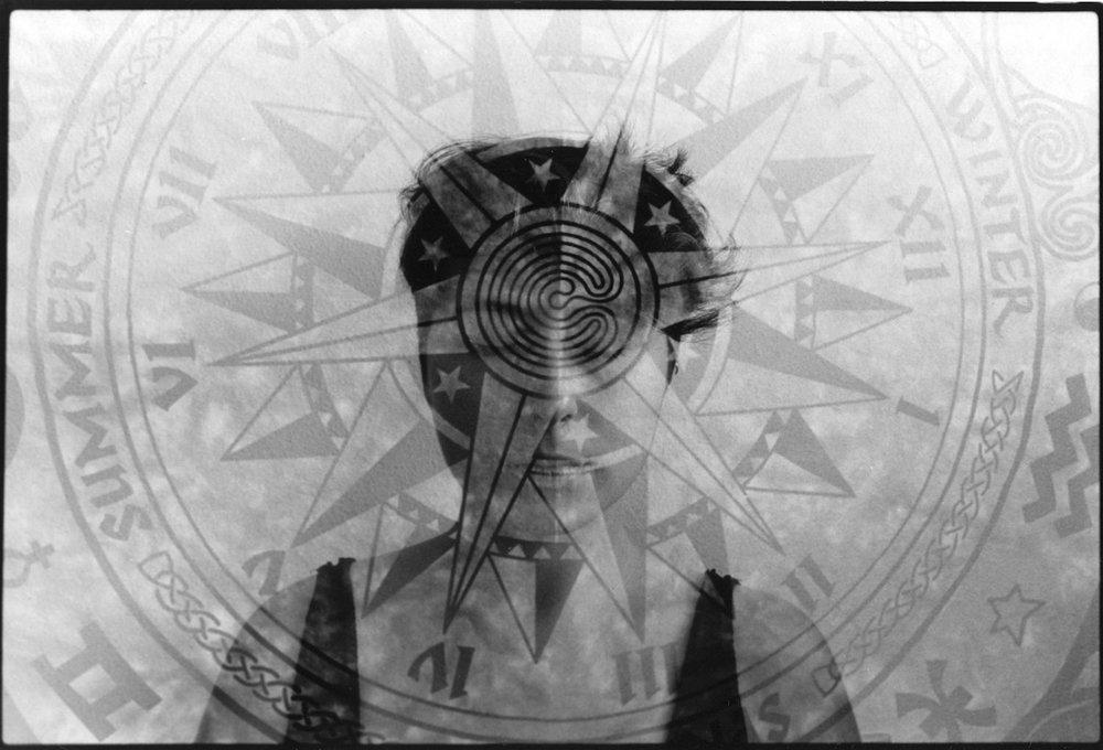 Enlightenment, Double Exposure, Silver Gelatin Print