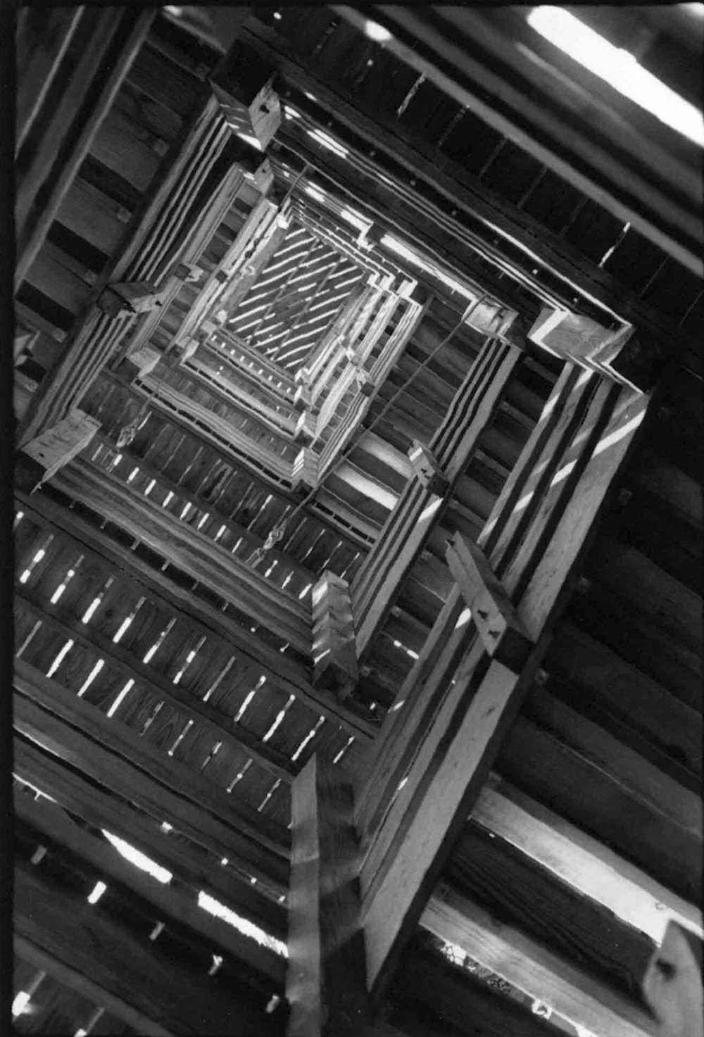 Myakka Staircase, Silver Gelatin Print