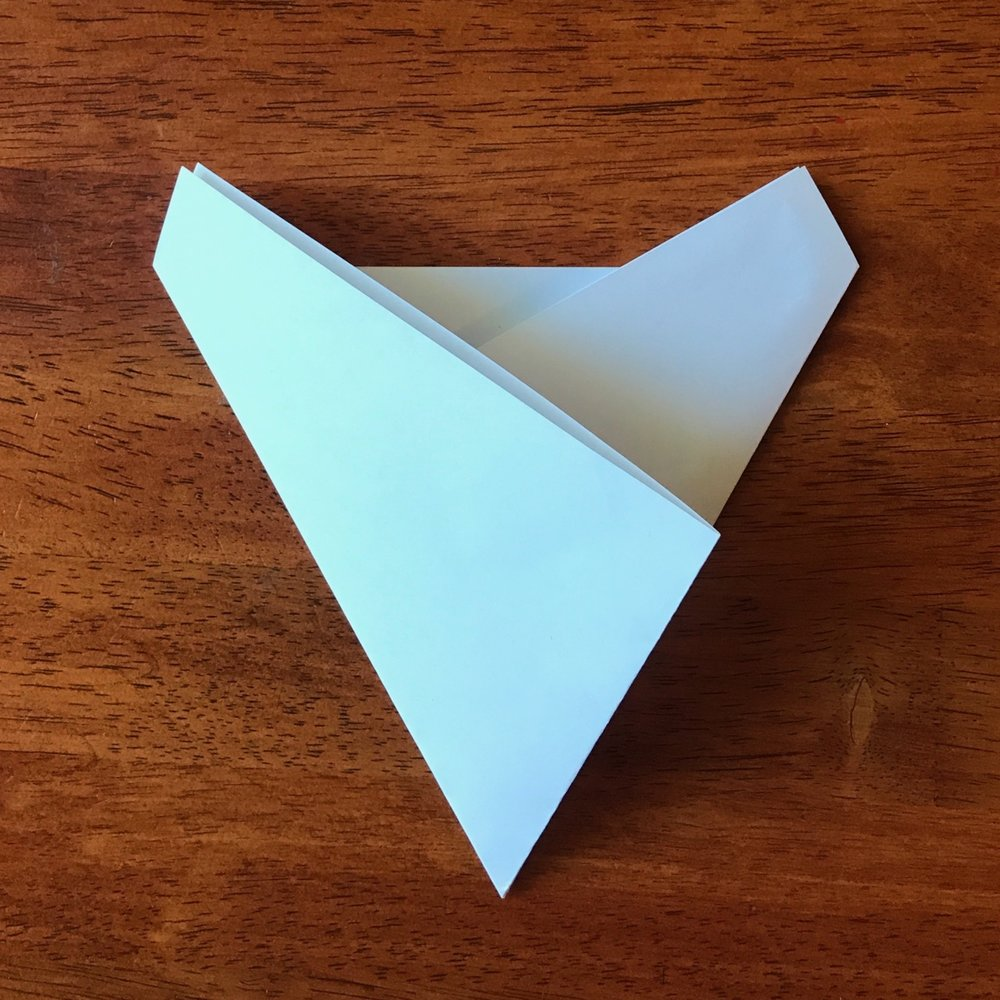 Fold your second angle