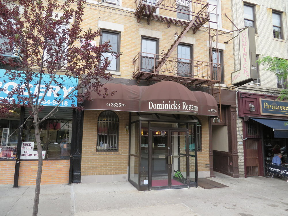 Dominick's Restaurant (Review Coming Soon) -