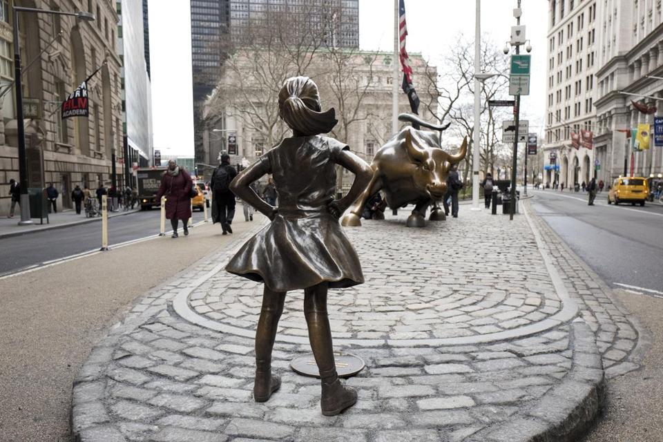Fearless Girl & Raging Bull -
