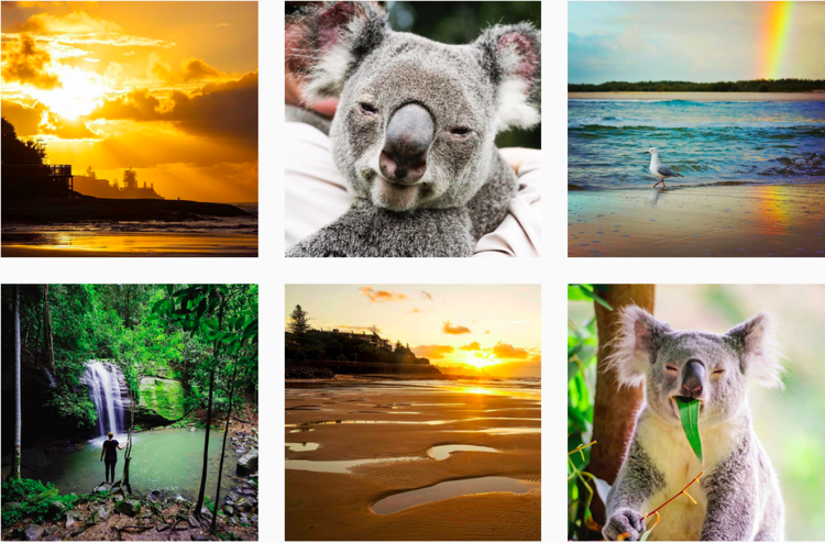 Instagram pictures of Aussie professional traveler Lauren Bath @laurenepbath Like other countries, Australia also has its own homegrown answers to Michelle Phan and Aimee Song. Chloe Morello, for instance, is thought to be the biggest Australian beauty YouTuber and makeup blogger who has an incredible engagement level of 15.7%. According to Brand Data, the combined audience base of Australia's top six social media influencers is even larger than that of highest-rated magazines, newspaper and TV shows there. Thanks to their native advantages, Aussie influencers can easily infuse awe-inspiring sceneries and the irresistibly cute Koala bears in their pictures. The carefree culture of Australia has also given these influencers a natural, down-to-earth appeal and the inspiration to try out new things.