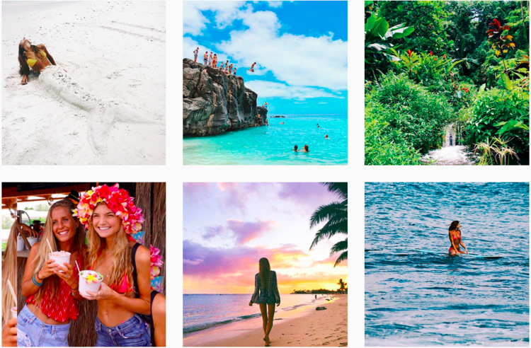 Instagram pictures of Aussie travel, lifestyle and yoga influencer Sjana Elise Earp @sjanaelise A very recent research study in August 2015 has shown that Aussie consumers are most responsive to advertisements immediately after they share content on social media. This means that even though Australians are more wary of interacting with branded content, marketers will greatly increase their chances of getting their messages across by carefully monitoring what content is being created and liked.