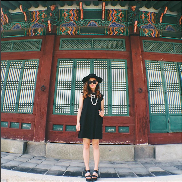 Jenn Im, fashion blogger and YouTuber who has nearly 1m followers on Instagram, in front of historical Korean architecture #TeamInstaBrand and our CEO Eric Dahan will be presenting at the ESTO(Educational Seminar for Tourism Organizations)Panel: The Next Generation of Social Media Marketing on August 24, 2015. Tune in to @USTravelESTO and @instabrand_co to get first-hand knowledge on how to do influencer marketing in the travel industry.